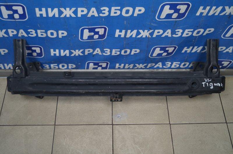 Усилитель бампера Volkswagen Tiguan 2011 передний (б/у)