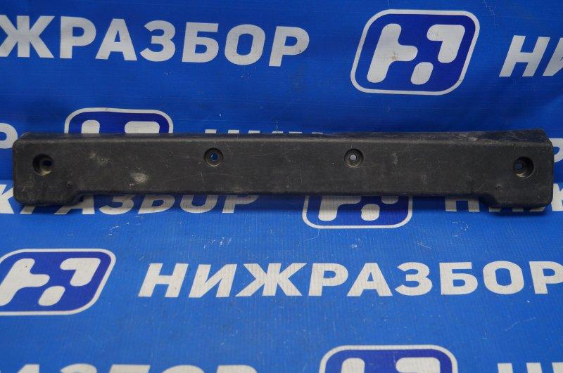 Накладка бампера под номер Hyundai Grand Santa Fe 2013 передняя (б/у)