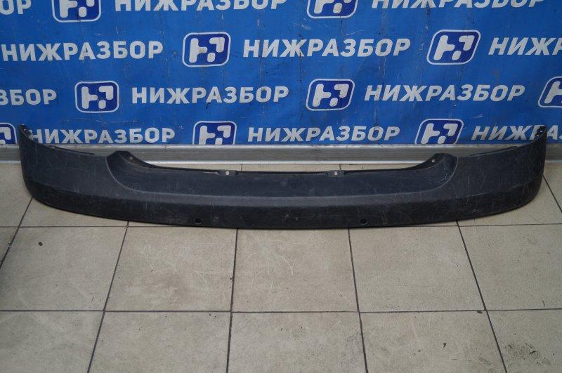 Накладка бампера Hyundai Getz 2002 задняя (б/у)