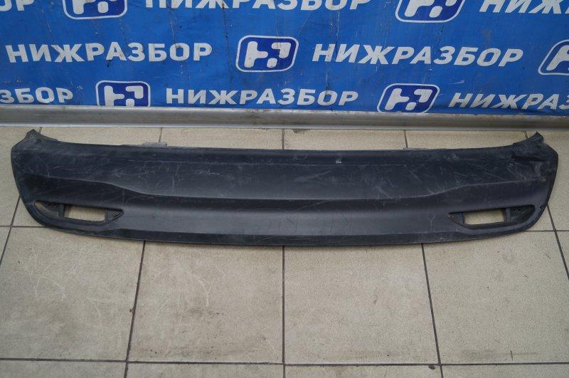 Юбка бампера Kia Rio 3 QB 2010 задняя (б/у)