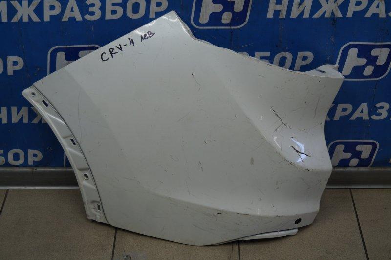 Накладка бампера Honda Cr-V 4 RM 2012 задняя левая (б/у)