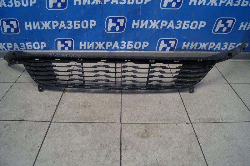 Решетка в бампер Kia Rio 3 QB 2010 передняя (б/у)