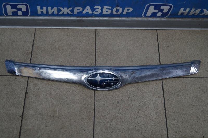 Накладка на решетку радиатора Subaru Forester S12 2008 (б/у)