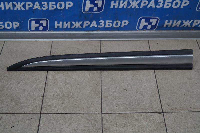 Молдинг двери Mitsubishi Outlander GF 2012> передний левый (б/у)