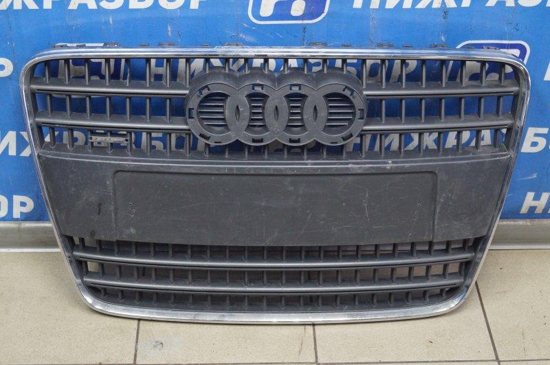 Решетка радиатора Audi Q7 4L 2005 (б/у)