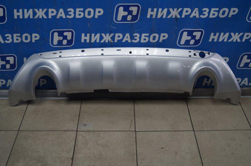 Накладка бампера Ford Kuga 1 2008 задняя нижняя (б/у)
