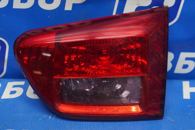 Фонарь внутренний Peugeot 4007 2008 задний правый (б/у)