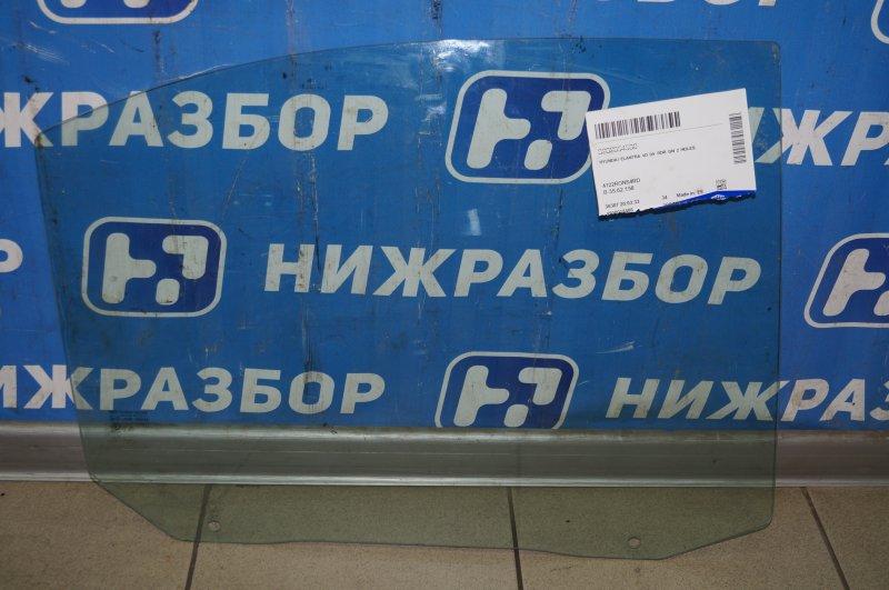 Стекло двери Hyundai Elantra XD 2000 заднее правое (б/у)