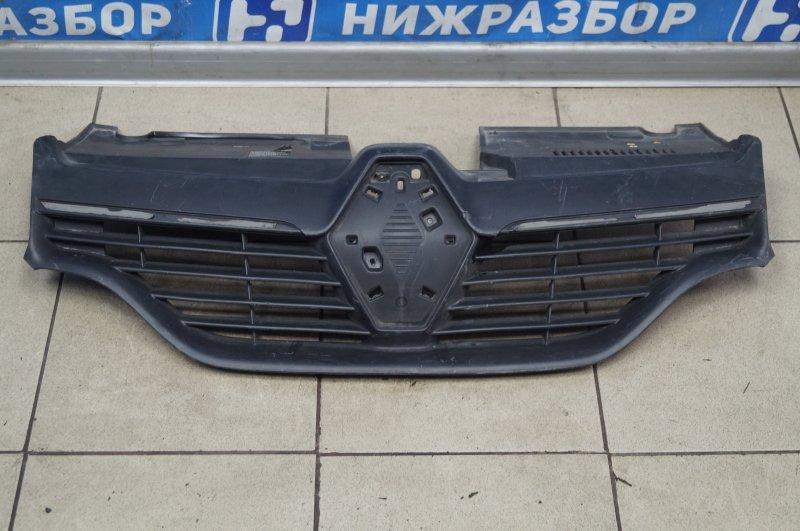 Решетка радиатора Renault Logan 2 2013 (б/у)