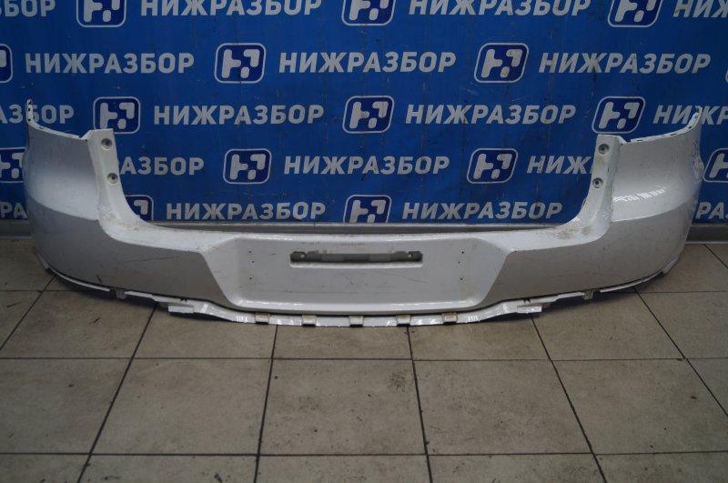 Бампер Volkswagen Tiguan 2 2011 задний (б/у)