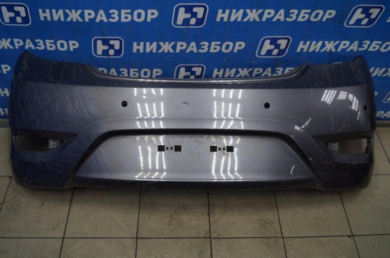 Бампер Hyundai Solaris 1 2010 задний (б/у)