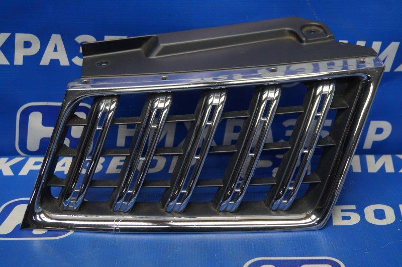 Решетка радиатора Mitsubishi Pajero/montero Sport KH 2008 правая (б/у)