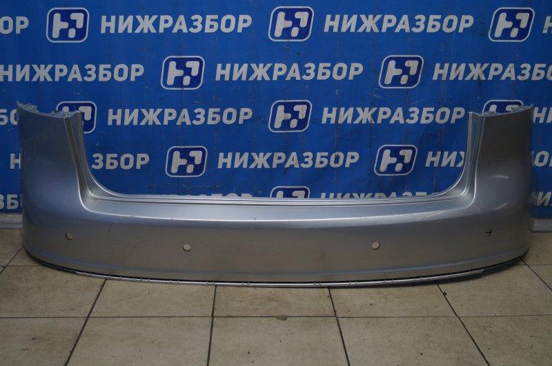 Бампер Volkswagen Golf 5 Plus 2005 задний верхний (б/у)
