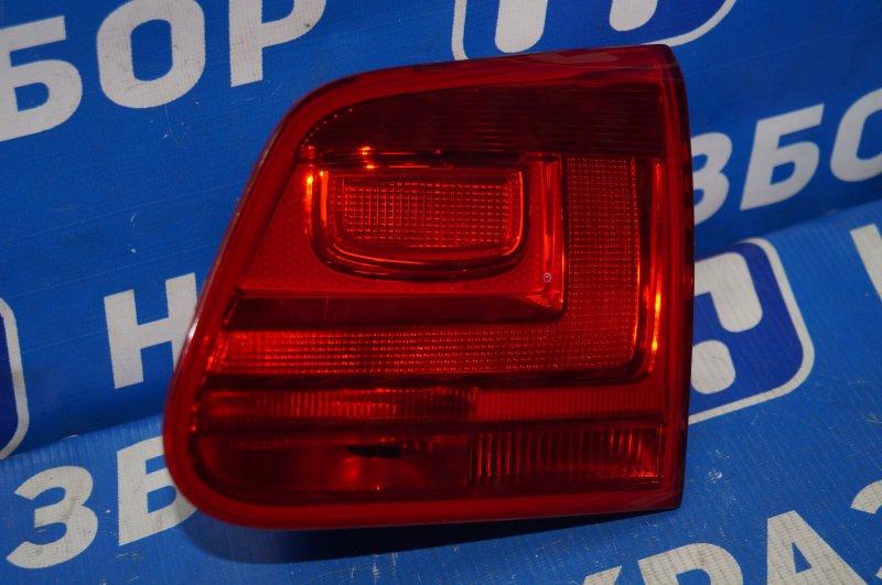 Фонарь внутренний Volkswagen Tiguan 2 2011 задний правый (б/у)