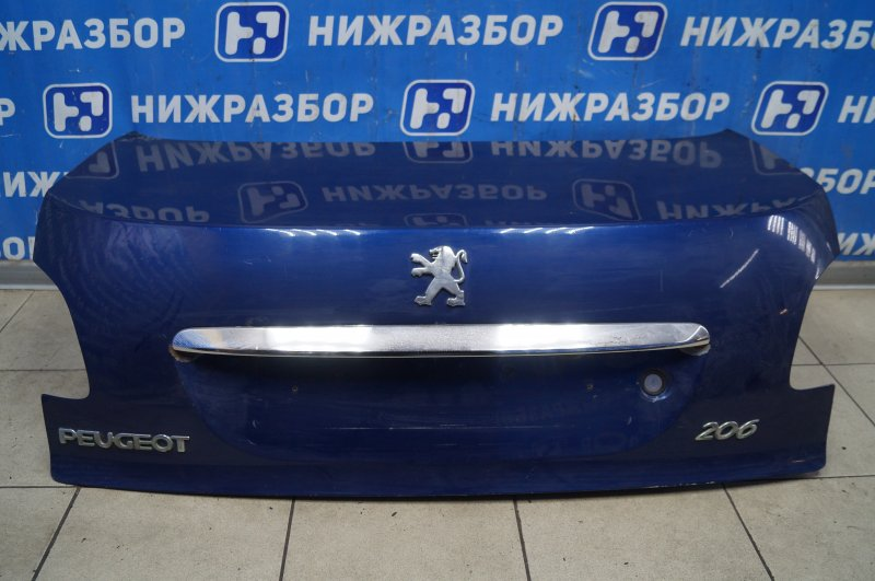 Крышка багажника Peugeot 206 1998 (б/у)