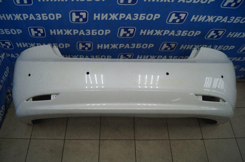 Бампер Hyundai Sonata 6 2010 задний (б/у)