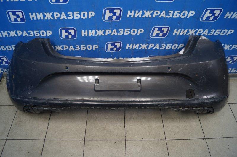 Бампер Opel Astra J 2010 задний (б/у)