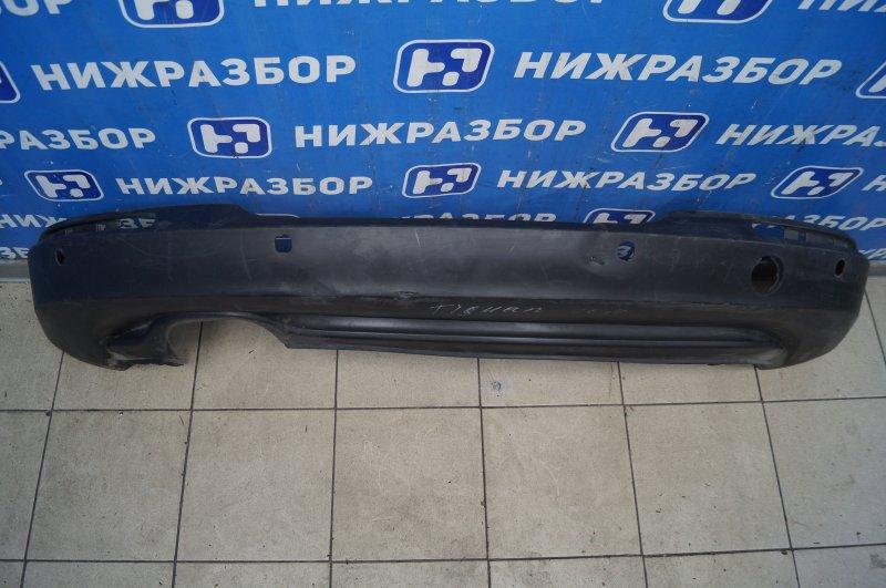 Юбка бампера Volkswagen Tiguan 2 2011 задняя (б/у)