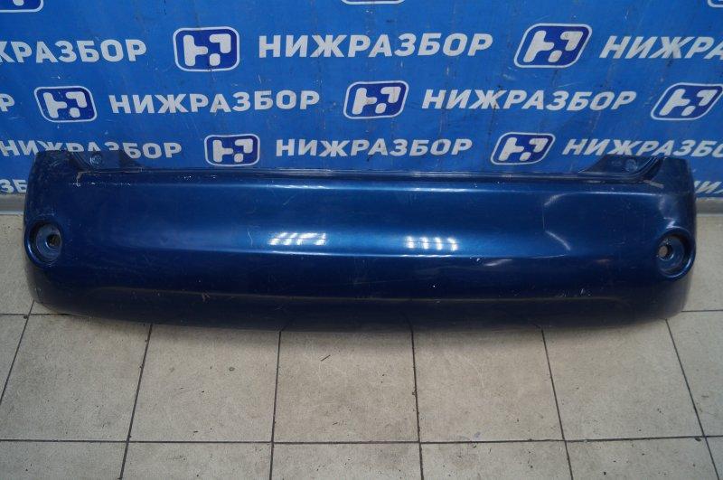 Бампер Ford Fiesta CBK 2001 задний (б/у)