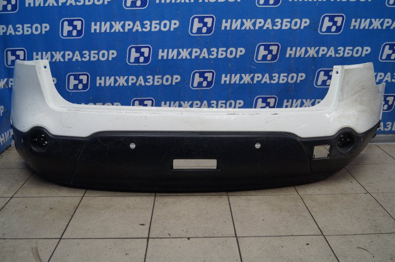 Бампер Nissan Qashqai +2 JJ10 2008 задний (б/у)