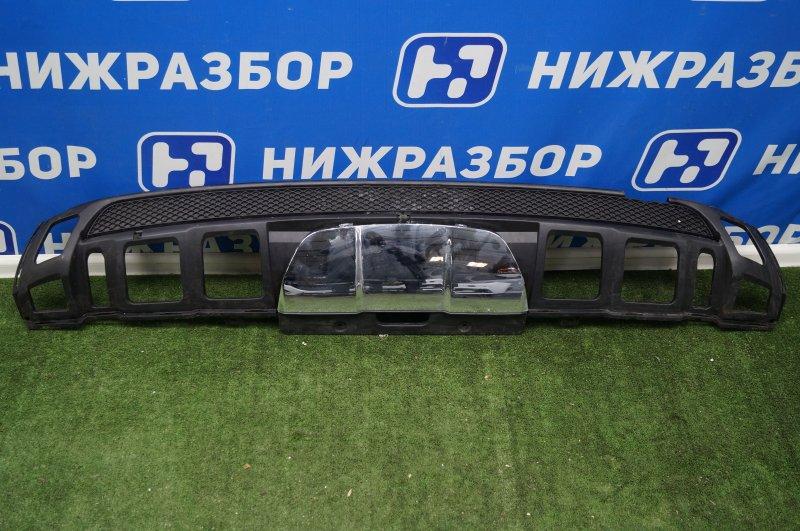 Юбка бампера Mercedes M-Class W166 2011 задняя (б/у)