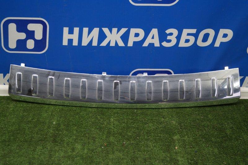 Накладка бампера Mercedes M-Class W166 2011 задняя верхняя (б/у)