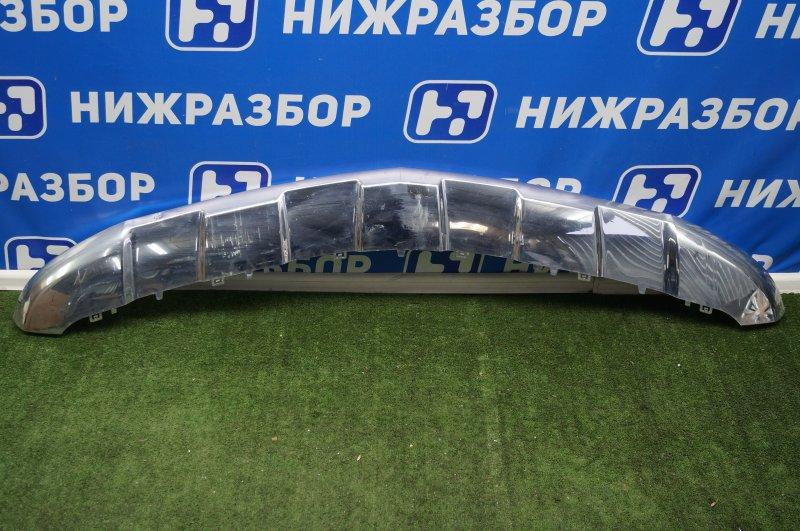 Накладка бампера Mercedes Gl-Class X166 2012 передняя нижняя (б/у)