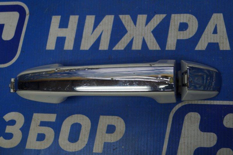 Ручка двери наружная Toyota Camry V50 2011 задняя левая (б/у)