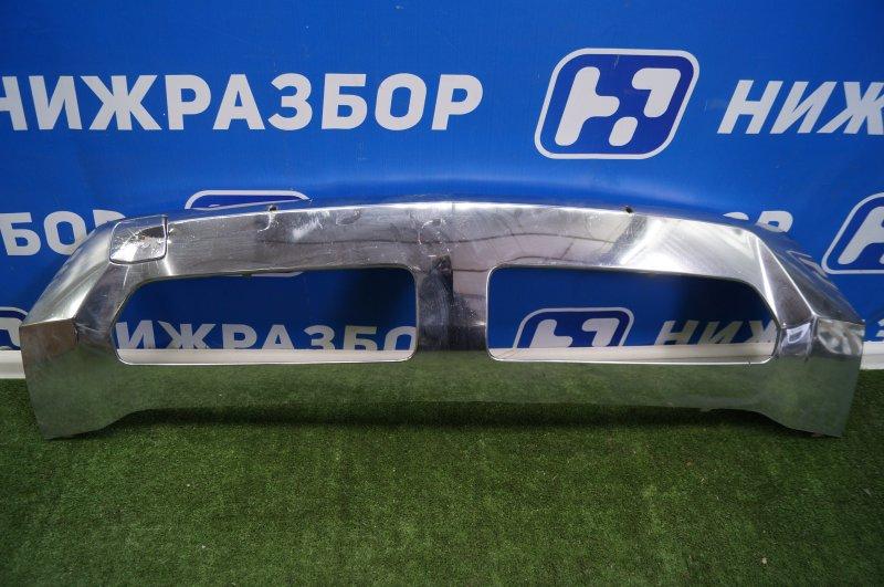 Накладка бампера Mercedes M-Class W166 2011 передняя нижняя (б/у)