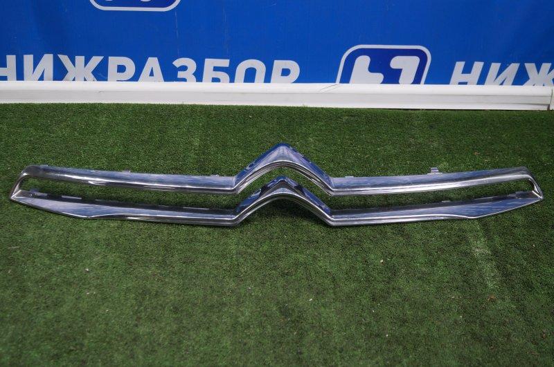 Накладка на решетку радиатора Citroen C-Elysee 2012> (б/у)