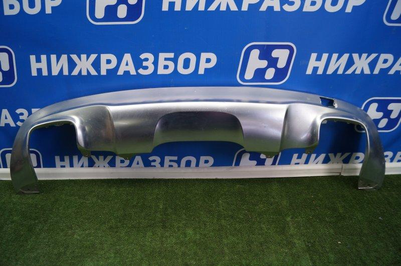 Накладка бампера Mercedes Gla-Class X156 2014> задняя (б/у)