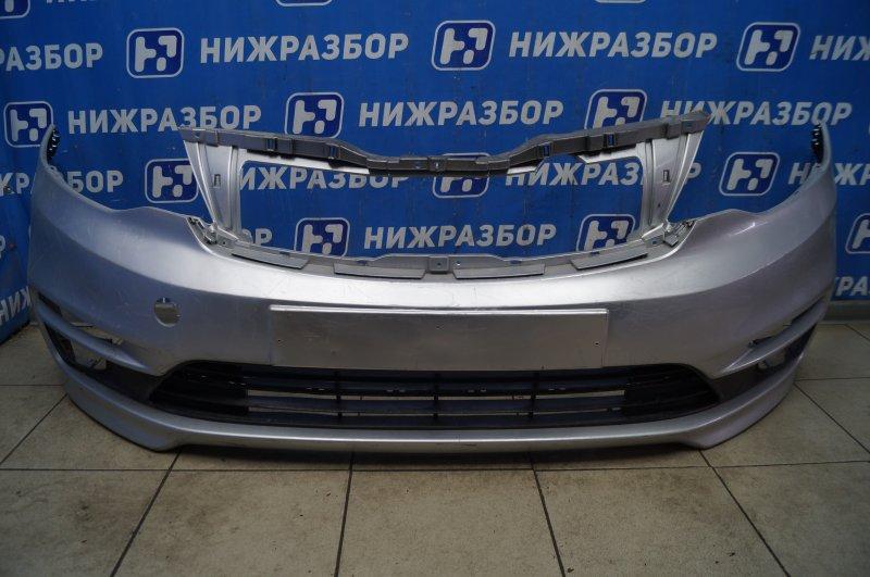Бампер Kia Rio 3 QB 2011 передний (б/у)
