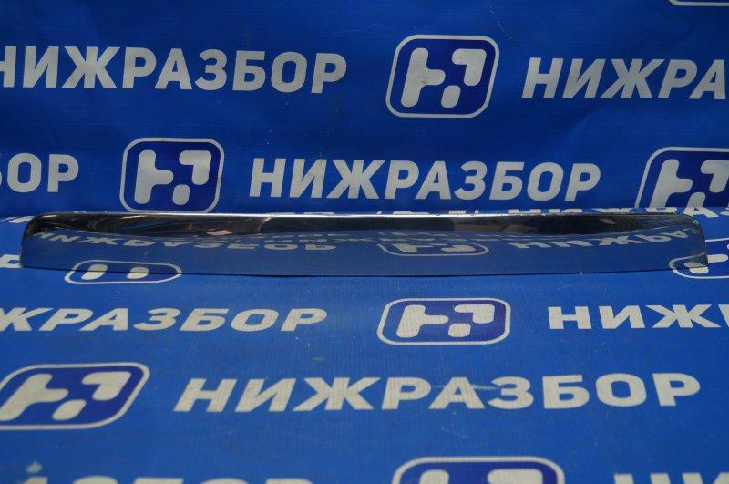 Накладка двери багажника Nissan Pathfinder R52 2014> (б/у)