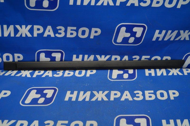 Молдинг двери Skoda Octavia A4 1U 2000> задний левый (б/у)