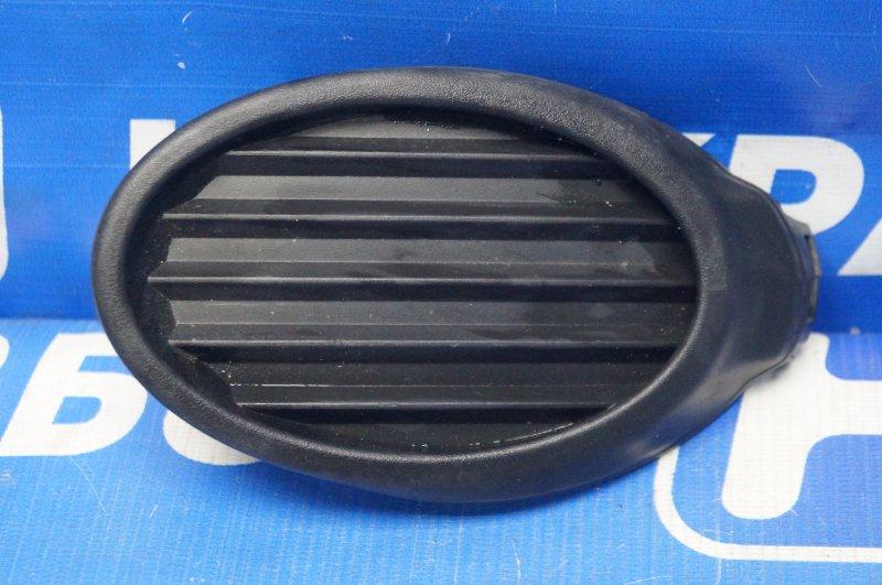 Заглушка бампера Ford Focus 3 2011 передняя левая (б/у)