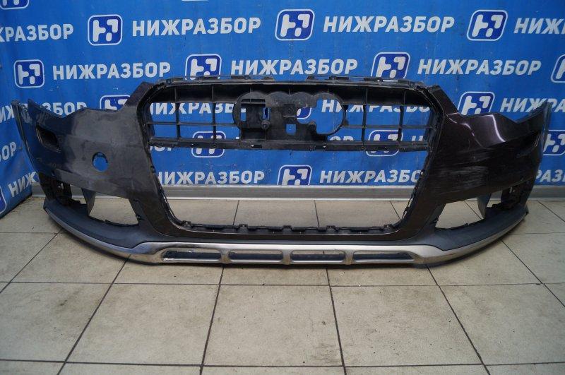 Бампер Audi A6 C7 2011 передний (б/у)