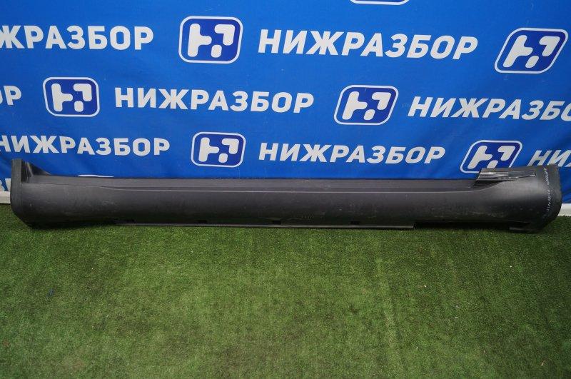 Накладка на порог (наружная) Infiniti Fx/qx70 S51 2008 правая (б/у)