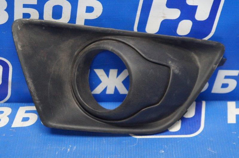 Решетка в бампер Ford Ecosport 2013> передняя правая (б/у)