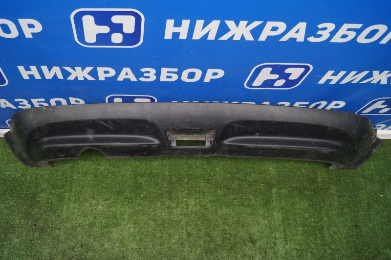Юбка бампера Nissan Juke F15 2010 задняя (б/у)