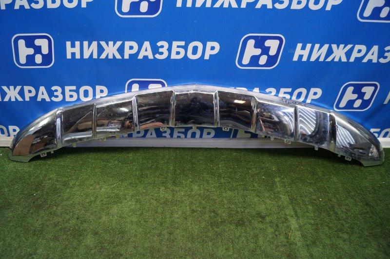 Накладка бампера Mercedes Gl-Class X166 2012 передняя (б/у)