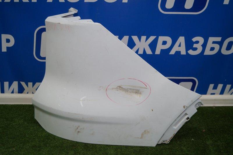 Накладка бампера Ford Kuga 2012 задняя правая (б/у)