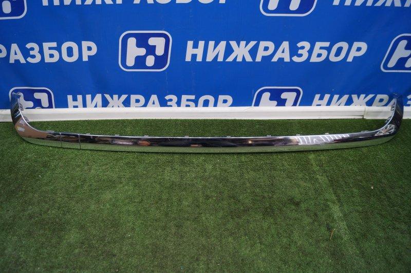 Накладка бампера Mercedes M-Klasse (Ml/gle) W166 2011 задняя (б/у)