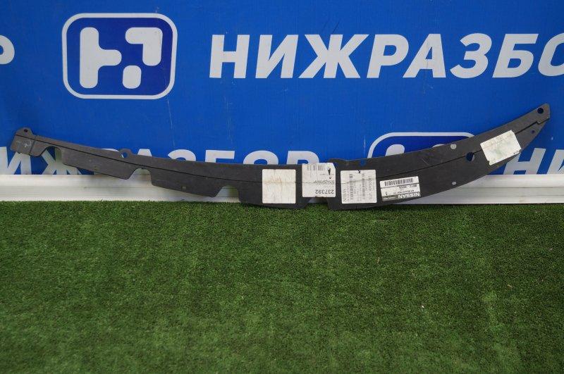 Спойлер бампера Nissan Pathfinder R52 2014> передний правый (б/у)