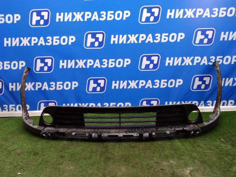 Юбка бампера Kia Rio X-Line передняя (б/у)