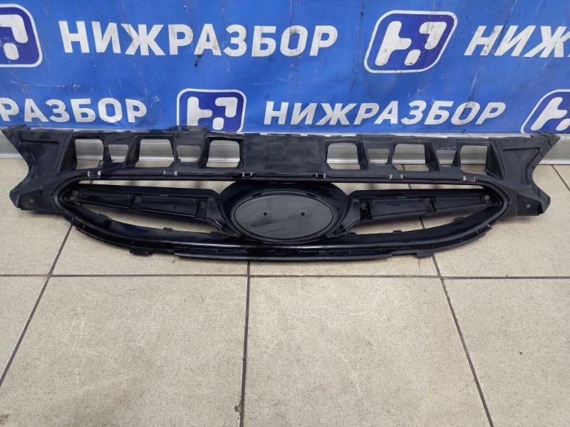 Решетка радиатора Hyundai Solaris 1 2010 (б/у)