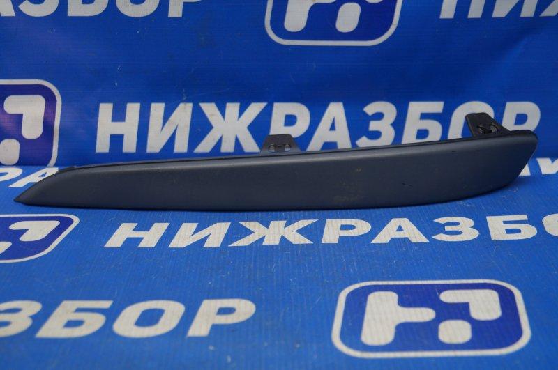 Накладка бампера Opel Astra H 2004 передняя левая (б/у)