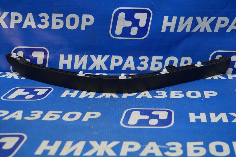 Спойлер бампера Kia Cerato 1 2004 передний левый (б/у)