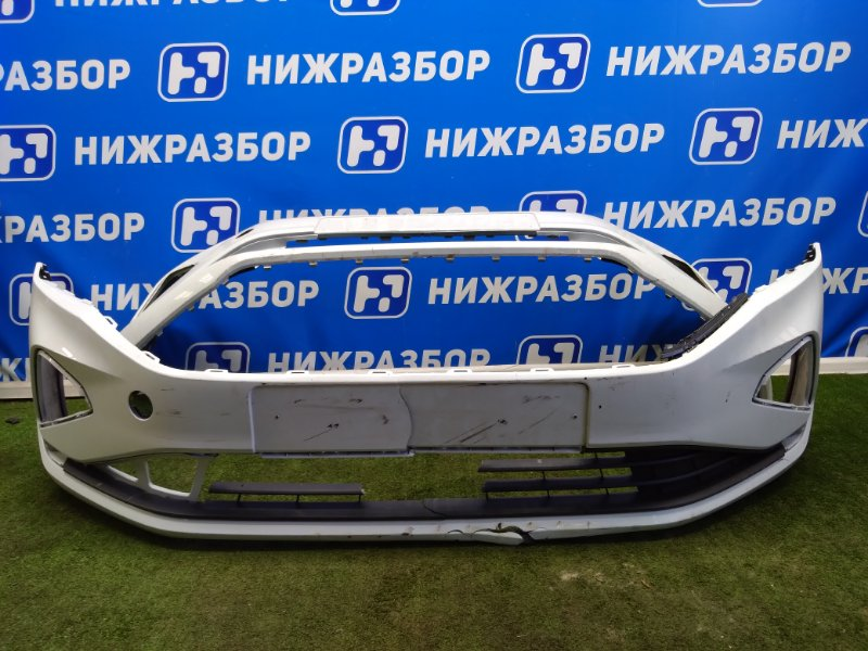 Бампер Volkswagen Polo 6 передний (б/у)