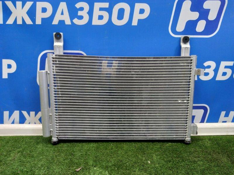 Радиатор кондиционера (конденсер) Daewoo Matiz передний (б/у)