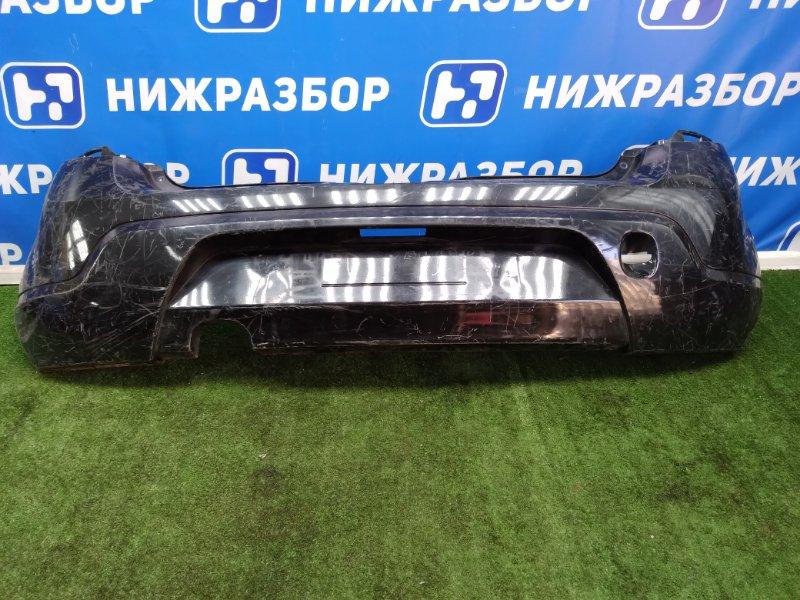 Бампер Renault Sandero 1 задний (б/у)